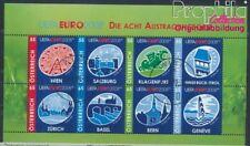 Austria 2697-2704 Sheetlet used 2008 Football-european championship (8578158
