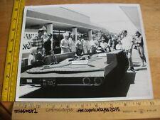 1966 Revell slot car racing photo at mall opening store 8x10 photo ORIGINAL