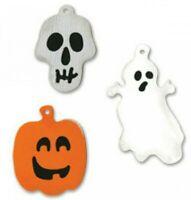 Halloween Charms Sizzix Sizzlits Die Set 655550 NEW! Ghost Skull & Pumpkin
