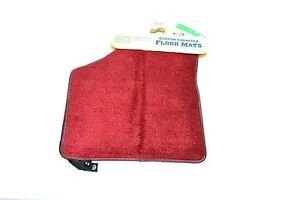 NEW Genuine OEM Ford Mercury Tempo Topaz Floor Mats Floor Mat Ruby Red Carpet