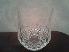 CRISTAL D'ARQUES DURAND LONGCHAMP CLEAR OLD FASHIONED