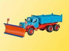 Kibri 15030 NEW HO / OO MAGIRUS 3 Axle Tipper With Snowplow