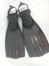 MARES POWER PLANA GRAPHITE SCUBA DIVING FINS SIZE SMALL MADE IN ITALY