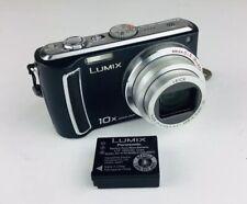 Panasonic LUMIX DMC-TZ4 8.1MP Digital Camera - Black Leica Lens