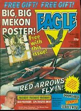 EAGLE #7 British weekly comic book May 8, 1982 (Mekon poster included) VG+
