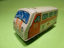 MADE IN USSR  CCCP TIN TOYS BLECH - AMBULANCE No 03 - GOOD CONDITION