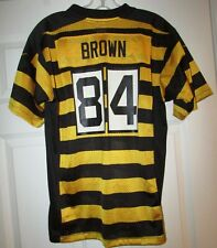NFL Pittsburgh Steelers Antonio Brown #84 Throwback Jersey Youth Large by Nike