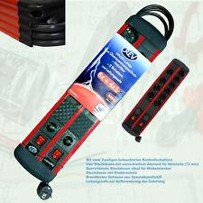 10-fach Steckdosenleiste REV SupraBig 6+4 fach Überspannungsschutz Netzfilter