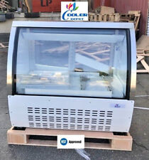 New 48 Commercial Deli Refrigerator Cooler Case Display Bakery Pastry Dc120 Nsf