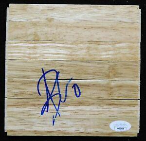 Aaron Brooks Houston Rockets Signed 6x6 Floorboard JSA Authenticated