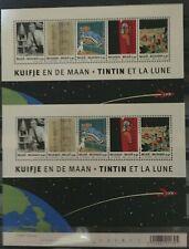"Belgique, België, 2 Blocs de timbres "" Tintin "" neufs MNH, bien"