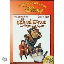 """DVD """"LE NOUVEL ESPION AUX PATTES DE VELOURS"""" Christina RICCI / film Disney"""