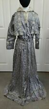 Vintage 1910s Silk and Lace Women's Day Dress