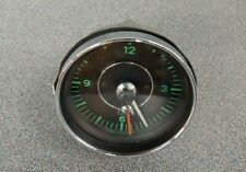 VERY NICE ORIGINAL PORSCHE 911 912 SWB GREEN FACED VDO KIENZLE CLOCK WORKS 7/65