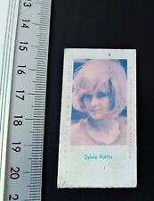 Rare Portuguese Weight Scale Ticket  Sylvie Vartan 60's Portugal