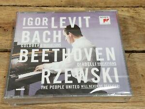 Bach, Beethoven, Rzewski (CD, Oct-2015, 3 Discs, Sony Classical) - New