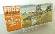 ENGLISH Electric BAC Canberra B (1) Mk8 o B (1) Mk12 JET FIGHTER by Frog i modelli