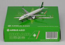JC Wings 1:400 Uni Air (Eva Air) Airbus A321-200SL B-16209  (XX4679)