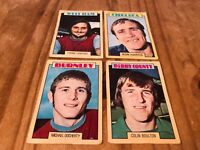 4X A&BC Chewing Gum Football Card 1973/74 Blue Back - G26