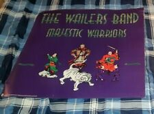 THE WAILERS MAJESTIC WARRIORS 1991 PROMOTIONAL POSTER BOB MARLEY RELATED