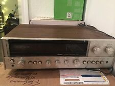 VINTAGE AM/FM SANSUI STEREO RECEIVER MODEL 771 WORKING GOOD