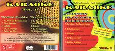 Karaoke Chansons Francaises/Quebecoises #1 -CD+G BRAND NEW, MusicaMonette Canada