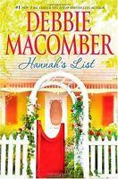 Hannahs List (A Blossom Street Novel) by Debbie Macomber