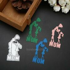 Mother and Daughter Cutting Dies Stencil Scrapbooking Embossing Paper Card Craft