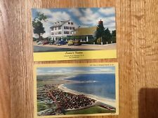 Five vintage unposted  postcards Hampton and Portsmouth New Hampshire