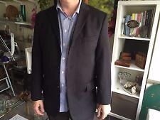Pierre Cardin à boutonnage simple 3 Bouton Veste noire-Taille 42R