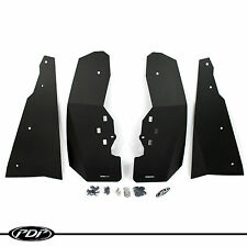Polaris RZR XP 1000 TURBO (14-17) UTV Mud Flaps / Fender Flares by PDP_ BLACK