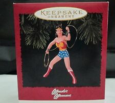 1996 Wonder Woman Hallmark Keepsake Ornament DC Comics New In Box Handcrafted