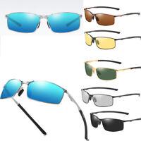 Aluminium Mens HD Polarized Photochromic Sunglasses Driving Sports Sun Glasses