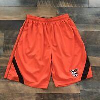BOWLING GREEN FALCONS BGSU Athletic Gym Shorts Adult Men's Size S Small Ohio