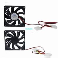 DC 12V 4Pin 80mm 15mm 80x15mm Brushless PC Computer Case Cooler Cooling Fan