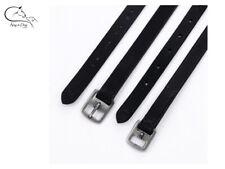 "Waldhausen /""Silverstar/"" Sparkle Leather Stirrup Leathers  Black  FREE DELIVERY"