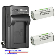 Kastar Battery Wall Charger for Canon NB-9L CB-2LB & Canon Powershot ELPH 520 HS