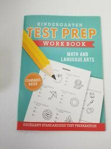 TEST PREP Workbooks Education Learning LA & Math Grade K, 1st, 2nd, 3rd NEW 2019