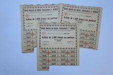 SOCIETE NOUVELLE DES ANCIENS ETABLISSEMENTS F. WENGER 1000 FRS 1955 X 69 ACTIONS