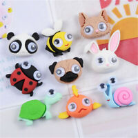 Random 20 pcs Resin Cute Animals Miniatures DIY Craft Making Decorations 2-3cm