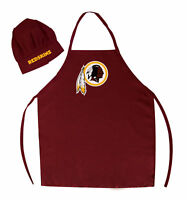 NFL Washington Redskins Barbecue Tailgating Apron and Chef's Hat