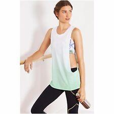 NWT Solow Women's Deep Armhole Mojito Tie Dye Tank Top Size SMALL S