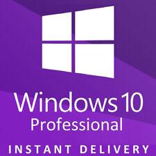 INSTANT Microsoft Windows 10 Pro Key Product Key License Code 32 / 64 bit