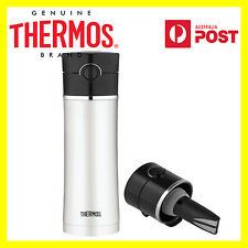 Thermos Vacuum Insulated Drink Stainless Steel Bottle Tea Infuser 470ml RRP49.99