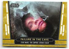 2017 Topps Star Wars 40th Anniversary GOLD Parallel Card #29 Serial # 11/40