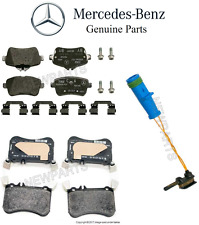 Mercedes-Benz CLA45 AMG GLA45 AMG Set of F+R Disc Brake Pads with Front Sensor