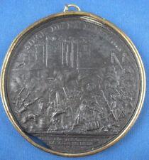 Medaille Eisenguss Louis XVI Siege de la Bastille