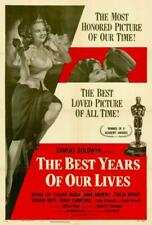 The Best Years of Our Lives Movie Poster 27 x 40 Fredric March, Myrna Loy, A