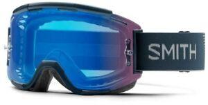 Smith Squad MTB Goggles Iron ChromaPop Contrast Rose Flash Lens + Clear Lens