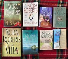 Nora Roberts lot of 8 books With 14 Stories, Paperback And Hardback